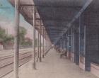 Sosnowiec Granica, Peron stacyjny - Kolejna pocztówka w galerii