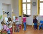 Lekcja rysunku przy sztalugach 26.04.2014 Piaskownica Kulturalna