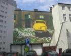 Mural przy Warszawskiej gotowy!!! Wkrótce uroczyste odsłonięcie