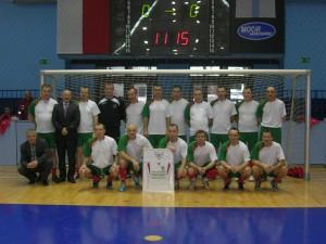 Zwycięska drużyna Oldboyów Zagłębia Sosnowiec