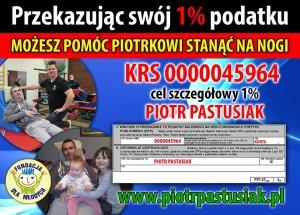 1 procent Piotr Pastusiak