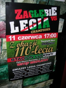 Plakat Legia Champions